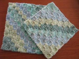 Diagonal Stitch Pattern Crochet